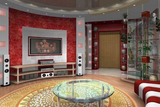 фото дизайна квартиры в русском стиле