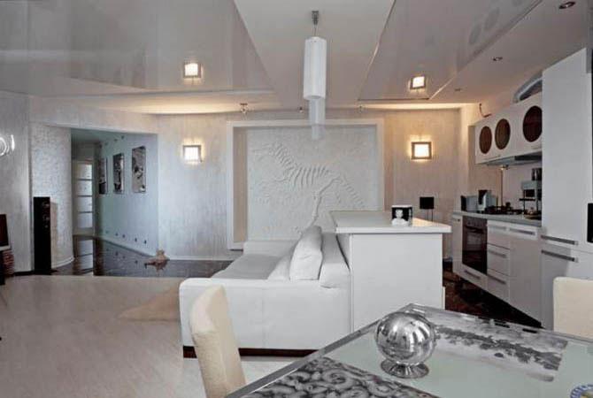 дизайн квартиры теплых тонов