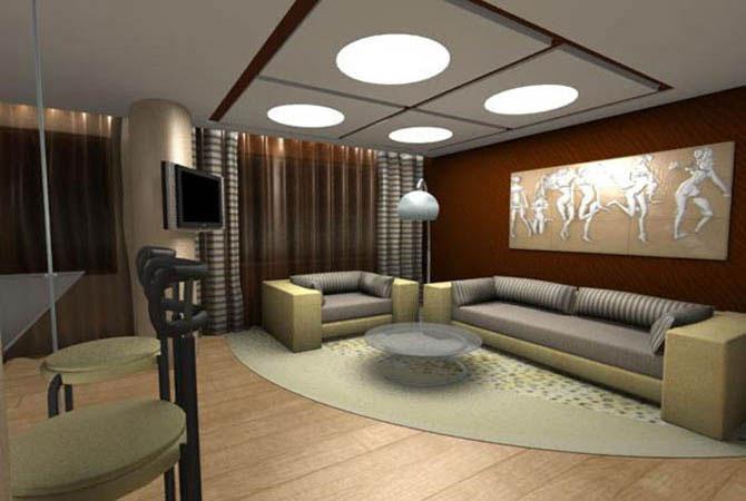 дизайн интерьера комнаты 5-35