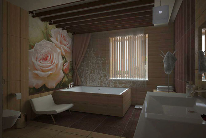 современный дизайн квартир роспись