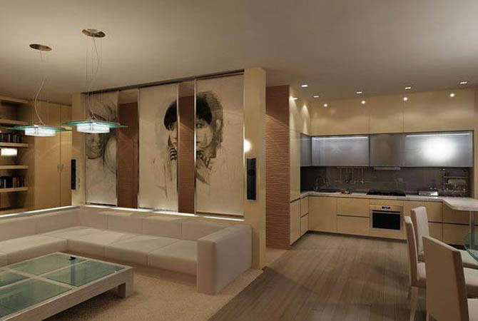 дизайн проект 3 комнатной хрущевки