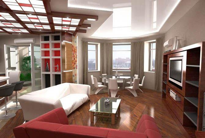 дизайн однакомнатной квартиры картинки видио
