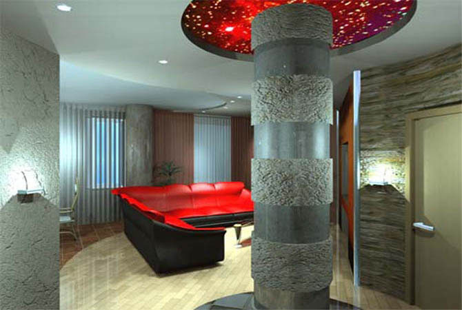 готовый интерьер 2х комнатной квартиры