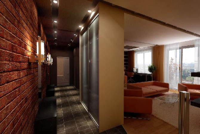 интерьер однокомнатной квартиры в домах серии 121-м