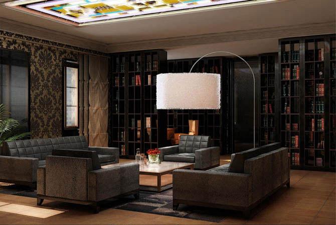 модный дизайн интерьера комнат