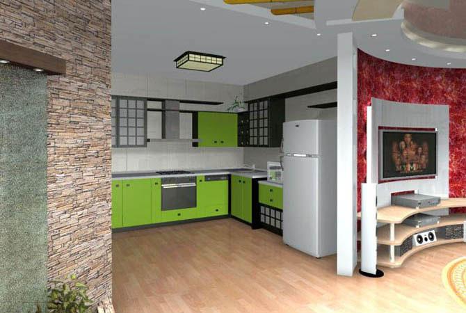 фотографии внутреннего дизайна однокомнатной квартиры