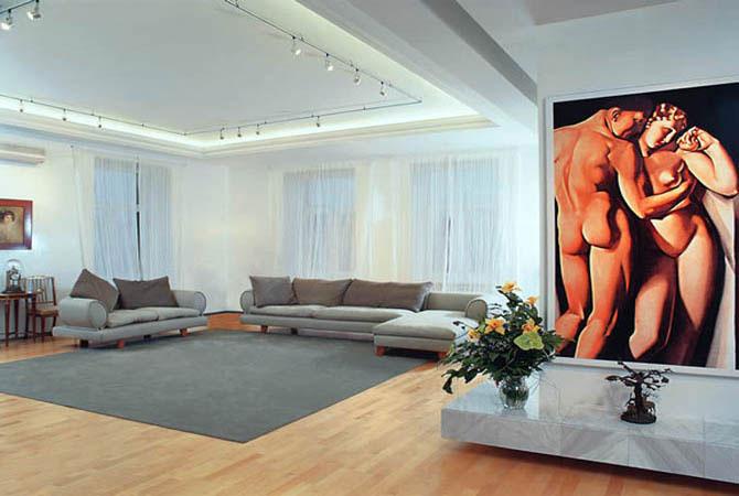 дизайн в комнате в восточном стиле