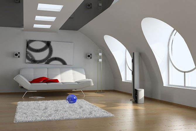 дизайн зала в обычной квартире фото