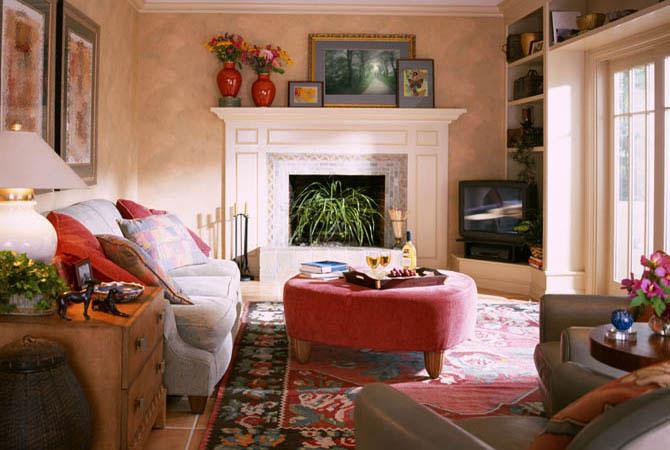 фото внутренней отделка дома