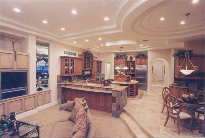 примеры дизайна кухни двухкомнатной квартиры