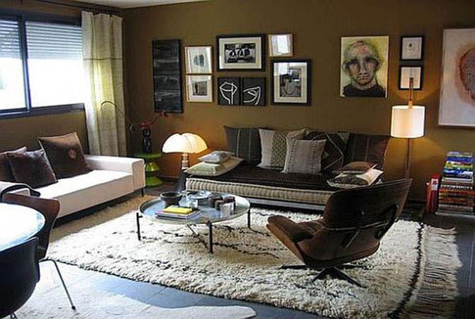 дизайн интерьера гостинных комнат