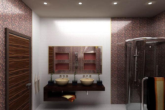 дизайн ванной комнаты для ii-18