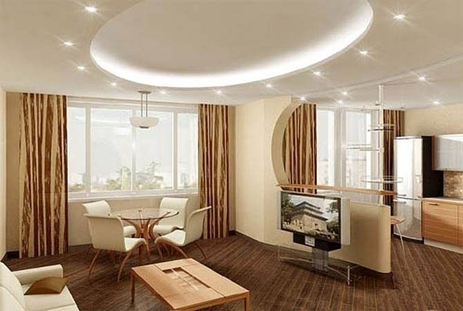дизайн интерьера гостинной малогабаритной квартиры