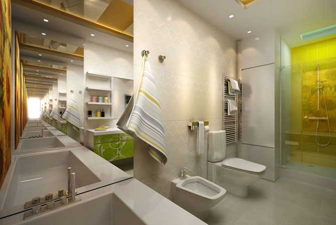 дизайн - интерьер комнаты для девушки