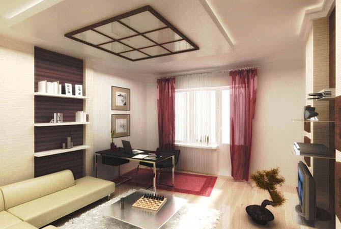 дизайн проект ремонт однокомнатной квартиры