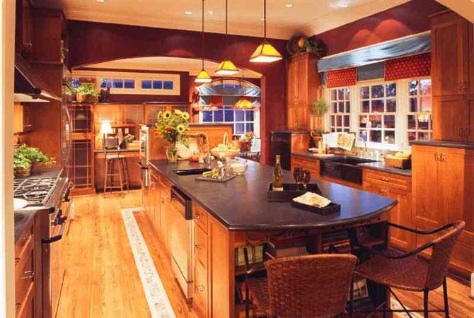 интерьеры квартир с открытой кухней