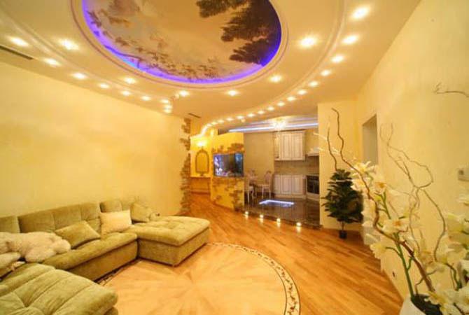 дизайн интерьера квартиры стенки