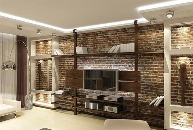 отделка и дизайн интерьера квартиры