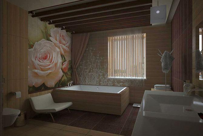 дизайн ванной в 2х комнатной квартире