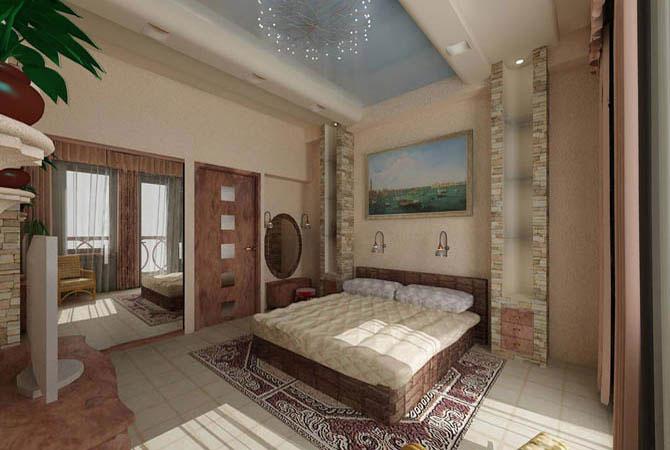 дизайн интерьера двухэтажного дома