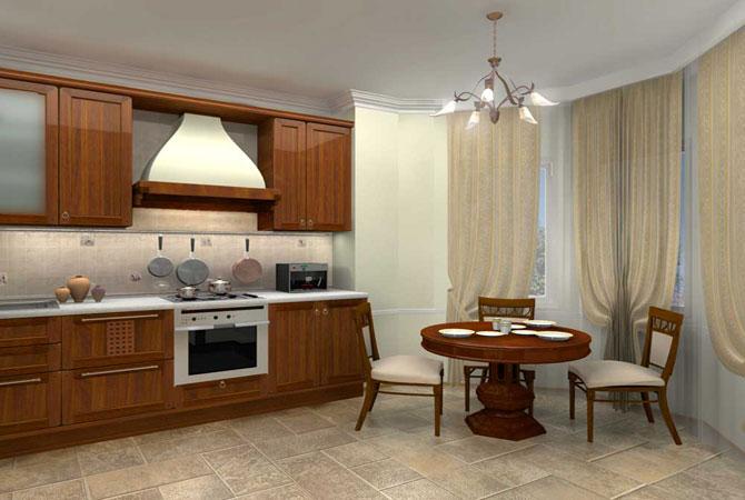 интерьер гостиной в типовом доме