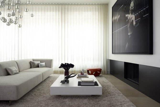 плавные обводы в дизайне квартиры