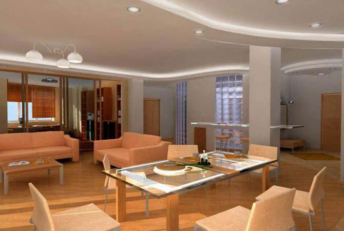 интерьер и дизайн в деревянном доме
