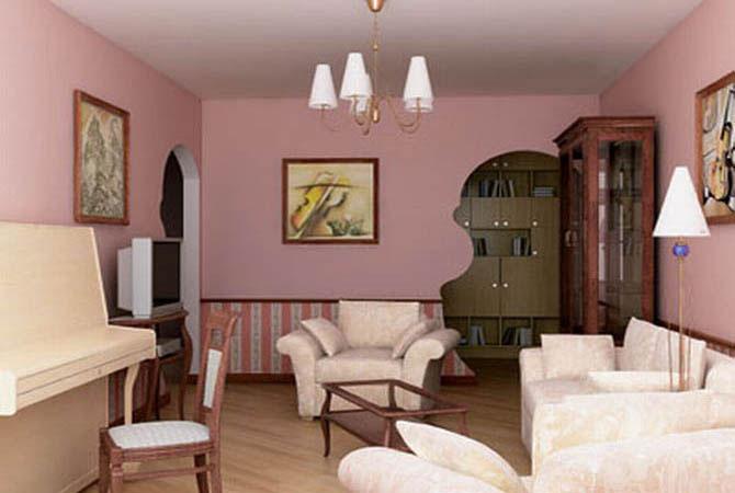 дизайн очень маленькой гостичной комнаты