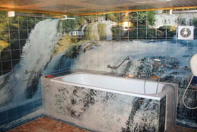 ремонт ванных комнат кафель фото