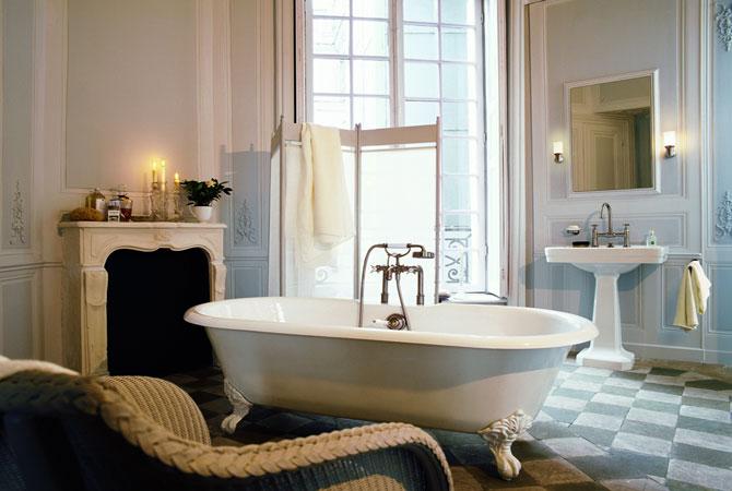 дизайн ванной комнаты в стиле лоры ашли