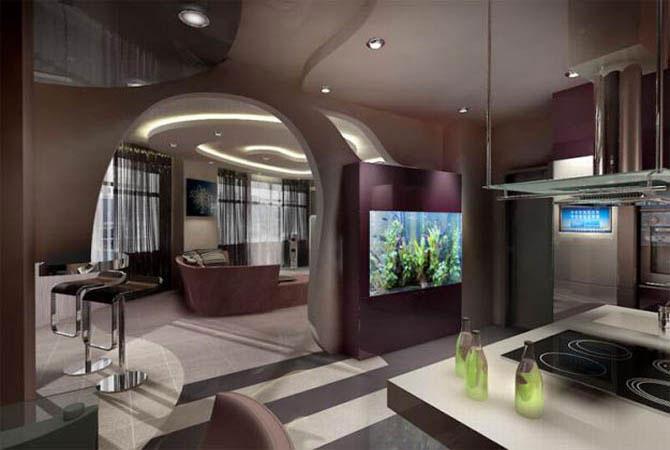 дизайн маленких квартир фото