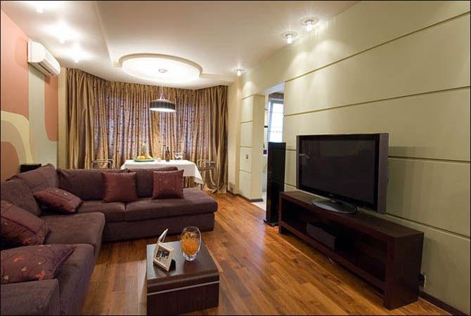 дизайн квартир корпусной мебелью