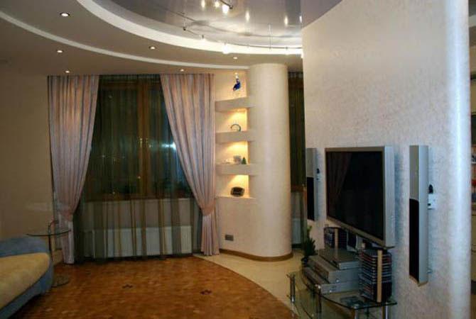 дизайн проект однокомнатной квартиры для холостяка