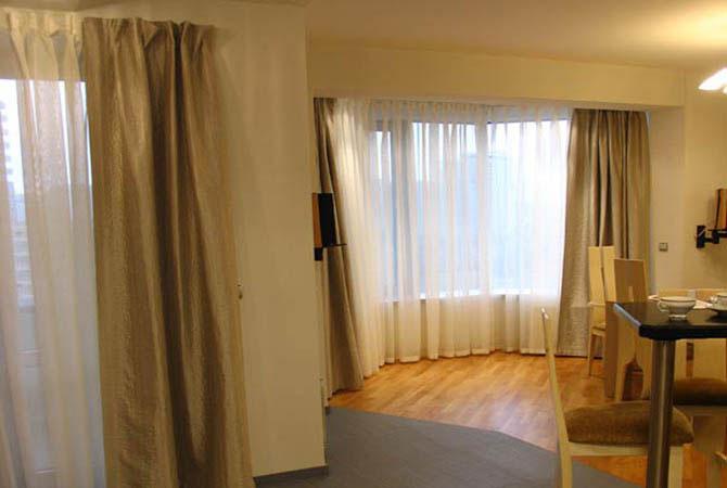 модный дизайн однокомнатной квартиры