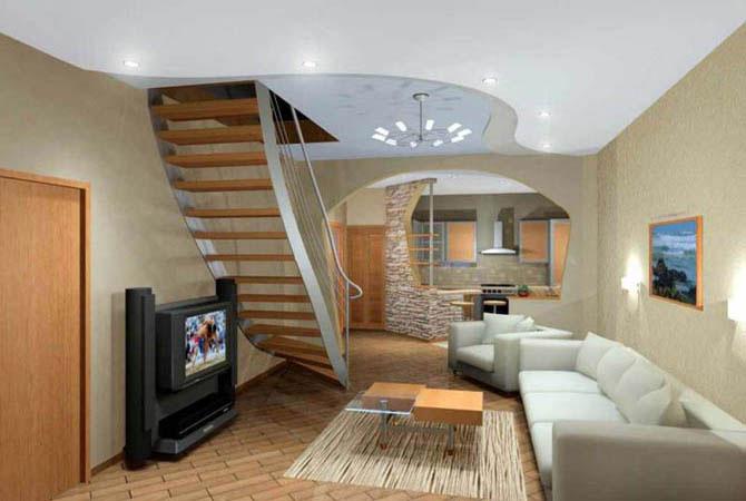домашний интерьер кухонная мебель