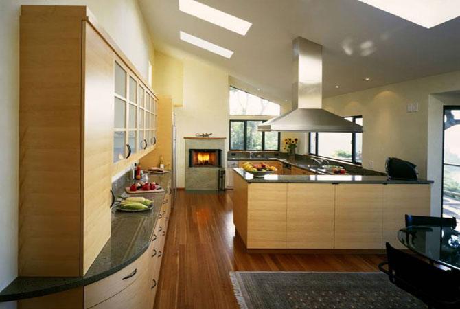 декор интерьера деревянного дома