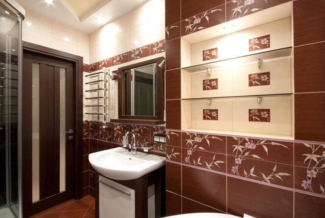 как зделать ремонт в ванной комнате