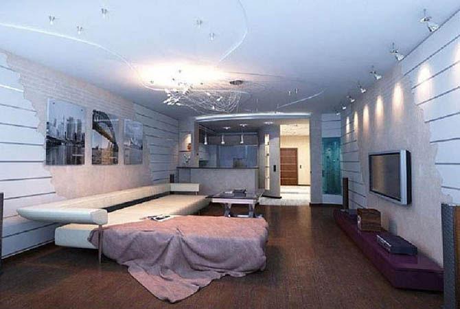комната 12 квм гардины дизайн