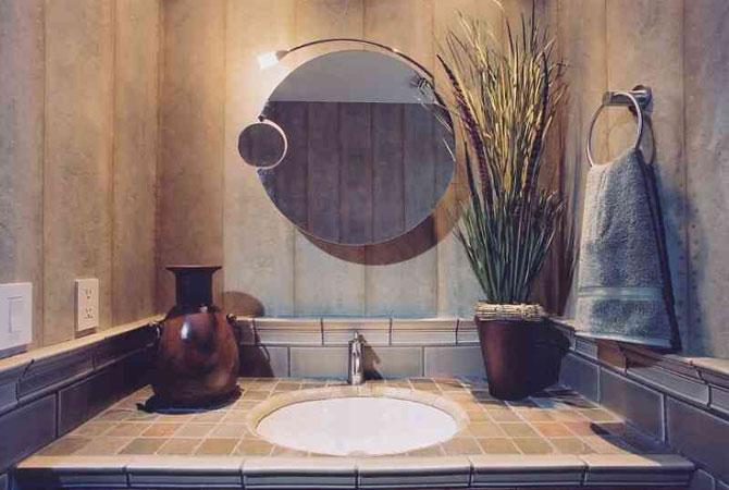 фото доступный интерьер ванной комнаты