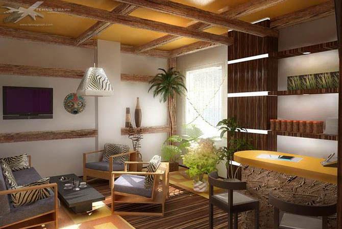 дизайн квартир потолка стен