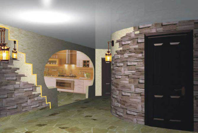 дизайн интерьера бильярдных в частных домах